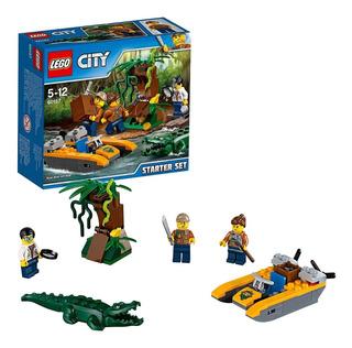 City Jungla Set De Introduccion Int 60157 Original Lego