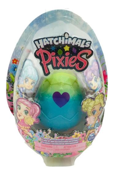 Hatchimals Pixies 1 Hada Con Accesorios Verde Spin Master