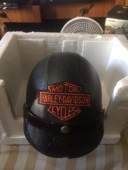 Capacete Tipo Harley-davidson