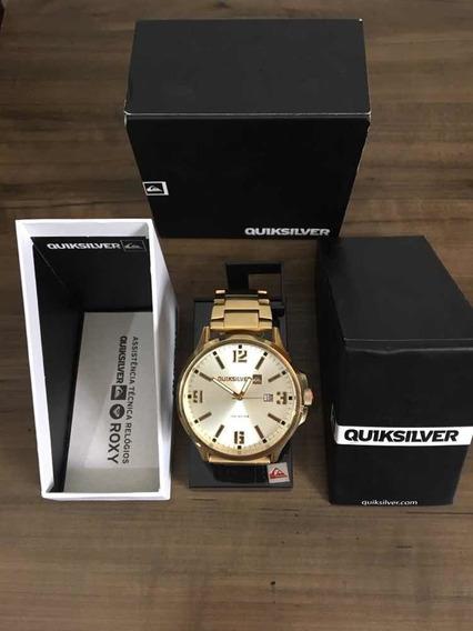 Relógio Quiksilver Beluka Dourado