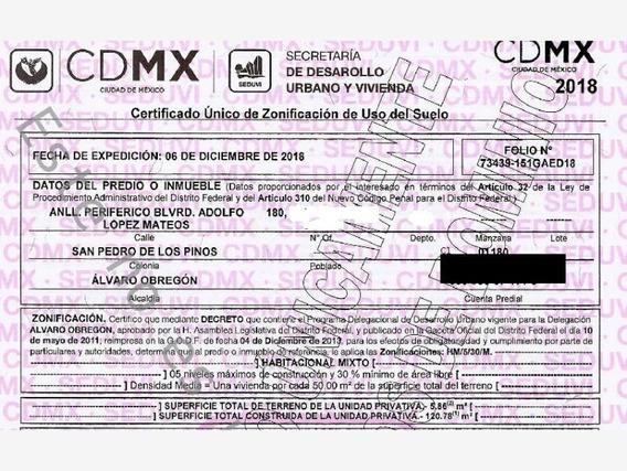 Departamento En San Pedro De Los Pinos Mx20-ia4903
