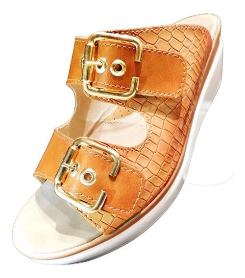 Zapato Mujer Zueco C/ Hebillas Cianna Mercedes T 35 A 40