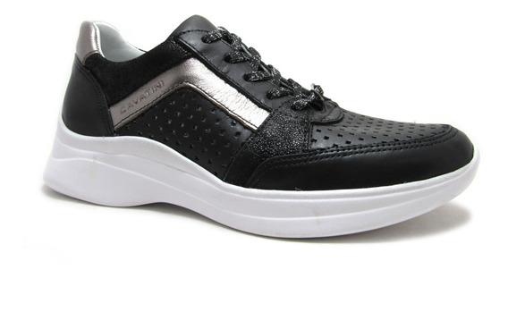Zapatillas Cavatini Con Plataforma Para Mujer