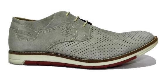 Efesis Zapato Cuero Color Humo 6172