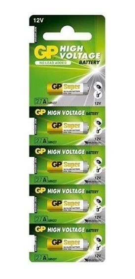 50 Pilhas 27a 12v A27 Alcalina Gp Controle Alarme Portão