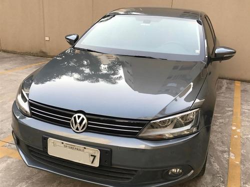 Jetta Comfortline Flex 2.0 Volkswagen Blindado Cinza