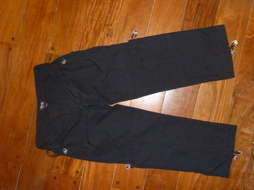 Pantalon Capri Negro Tabatha! Como Nuevo!