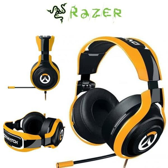 Headset Razer Man O´war Tournament Edition Overwatch C/ Nota
