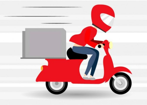 Imagem 1 de 1 de Motoboy Entrega Delivery Moto