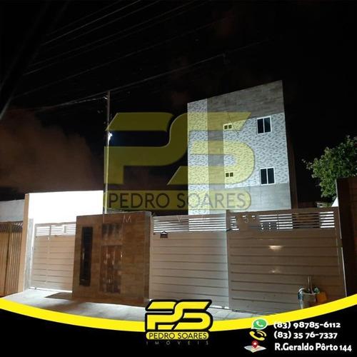 Apartamento Com 3 Dormitórios À Venda, 62 M² Por R$ 159.900,00 - Oitizeiro - João Pessoa/pb - Ap2577