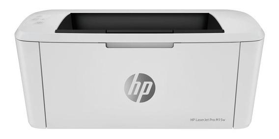 Impressora Hp Laserjet Pro M15w Monocromática Wifi 110v