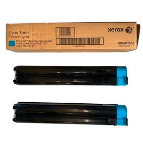 Toner Xerox 006ro1452 Cyano Caixa C/ 2 Unidades
