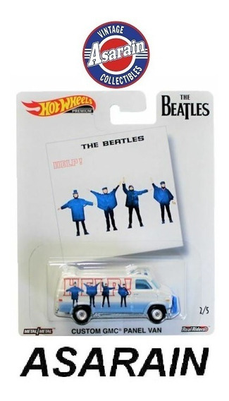 Gmc Panel Van The Beatles Pop Culture 2019 Hot Wheels 1/64