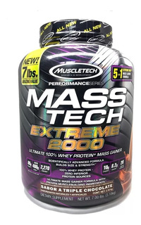 Proteina Mt Masstech Extreme 2000 7 Lbs