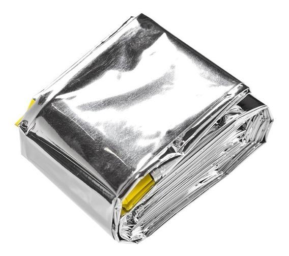 Saco De Dormir Emergência Alumínio Isolamento Térmico 6 Grau
