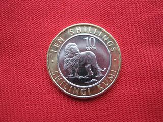 Kenia 10 Shillingi 2018 Bimetalica