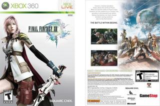 Nuevo Y Sellado! Final Fantasy Xiii Xbox 360