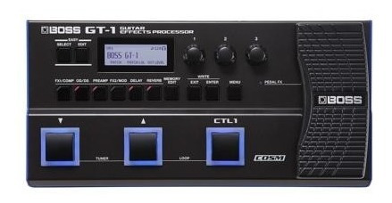 Pedaleira Boss Gt 1 Multi Efeitos Para Guitarra Gt1 + Fonte