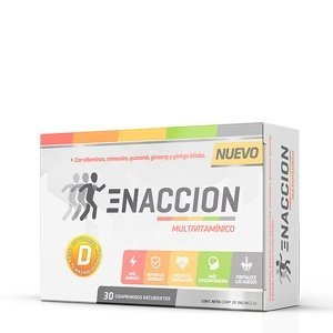 Enaccion Multivitaminico 60comp Ena Sport Nutrition!!