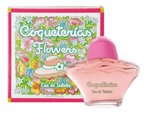 Imagen 1 de 1 de Coqueterías Perfume Flowers Nena Eau De Toilette X80 Ml