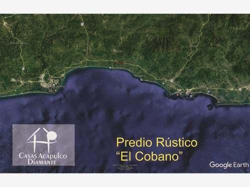 Cad El Cobano. Predio Urbano Con 2.5 Km De Frente De Playa