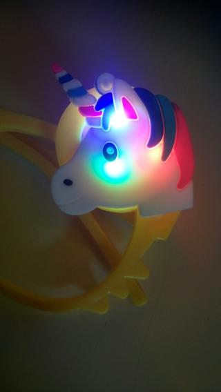 10 Anteojos Gafa Aplique Unicornio Led Cotillon Luminoso