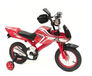 Bicicleta Moto De Pista Lamborguini Rodado 16 Babymovil 7109