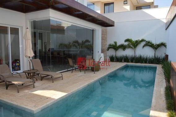Casa Residencial À Venda, Residencial Quinta Do Golfe, São José Do Rio Preto. - Ca0866