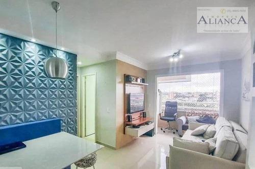 Imagem 1 de 15 de Apartamento Com 2 Dormitórios À Venda, 55 M² Por R$ 303.000,00 - Conjunto Residencial Pombeva - São Bernardo Do Campo/sp - Ap2265