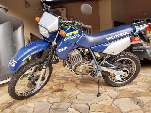 Imagem 1 de 11 de Moto Honda Xlx 350 1990 Azul