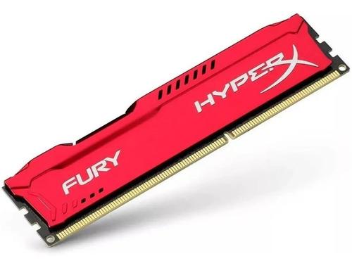 Memoria Ram Ddr3 4gb 1600mhz Hyperx Fury Red Hx316c10fr/4