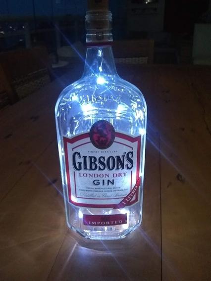Luminária Garrafa Gin Gibson