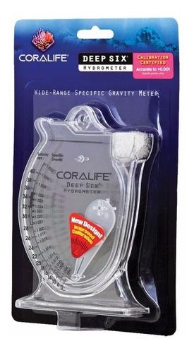 Hidrometro Densimetro Coralife Mini Para Acuarios Marinos