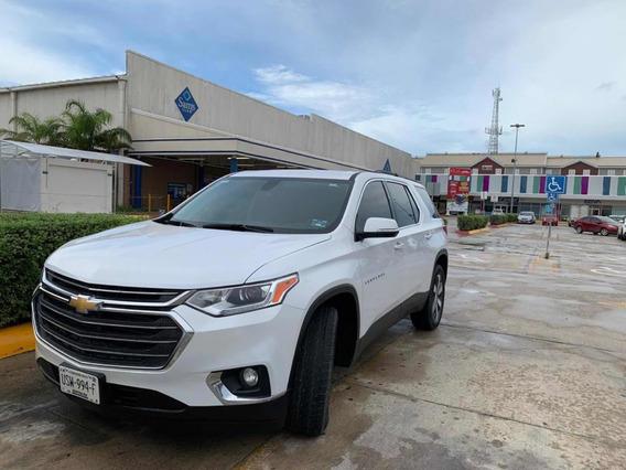 Chevrolet Traverse 3.6 Lt Piel At 2019