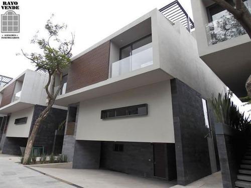 Condominio Horizontal Nuevo En Venta San Jeronimo Lidice