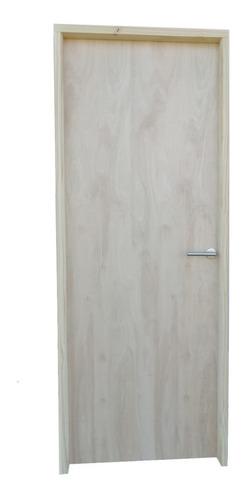 Puerta Interior 65cm Para Tabique Yeso 9,5 Con Manija En L