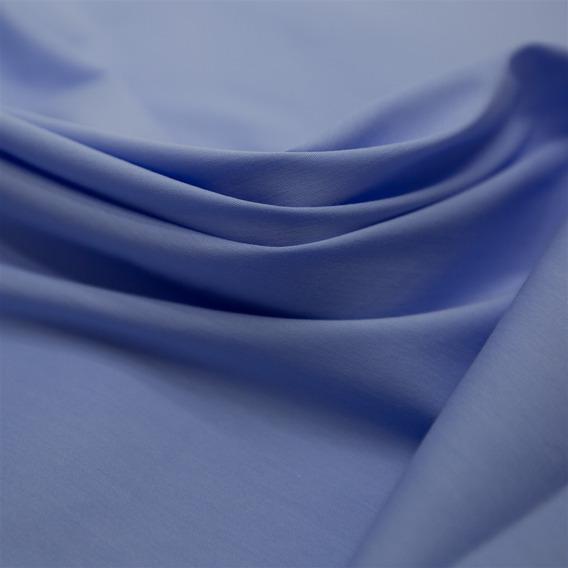 Tecido Tricoline Com Elastano Azul Serenity