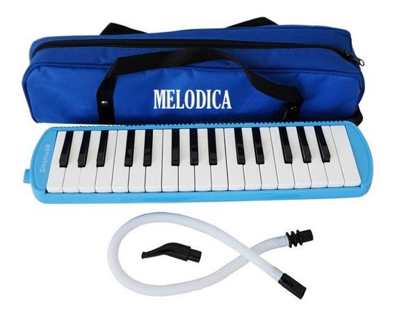 Melodica A Piano 32 Notas Con Funda Manguera Y Pico