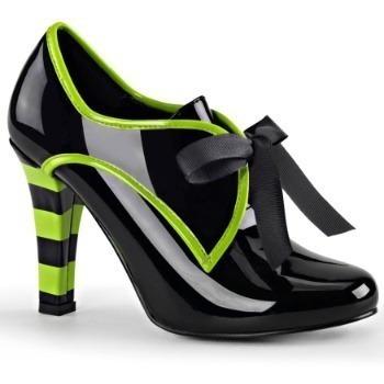 Zapatos Botines Victorianos De Bruja Negros Para Damas 2