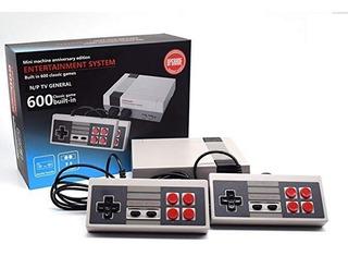 Consola 600 Juegos Tipo Nintendo Clasico Con Dos Palancas
