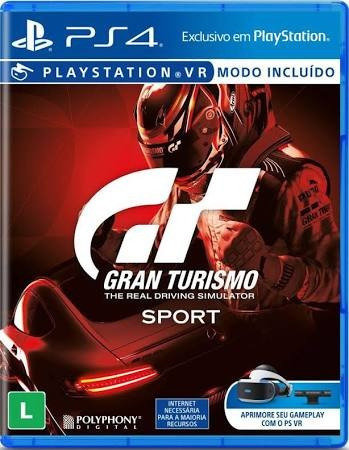 Gran Turismo Sport - Ps4 - Mídia Física - Novo