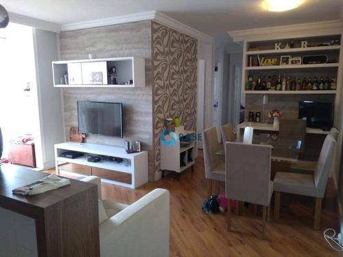 Apartamento À Venda, 66 M² Por R$ 395.000,00 - Jardim Prudência - São Paulo/sp - Ap7707