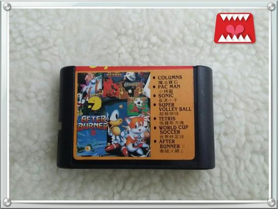 Cartucho Super 7 Jogos Em 1 Paralelo Mega Drive (sonic 1...)