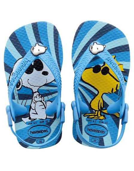 Zona Zero Havaianas Ojotas Baby Snoopy Originales