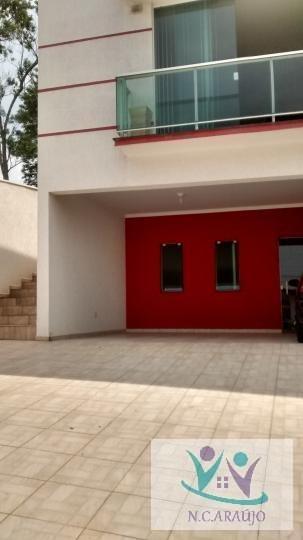 Casa Para Venda Em Mogi Das Cruzes, Aruã, 3 Dormitórios, 3 Suítes, 4 Banheiros, 4 Vagas - Ca0298