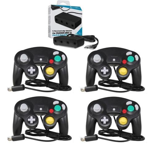 4 Controles Gamecube Para Super Smash Bros Ultimate Switch