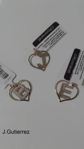 Pingente Rommanel Coração Com Letra (542211)