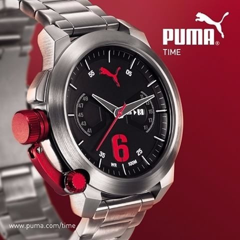 Relógio Masculino Puma Advance Metal Analógico Pu103781004