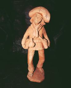 Escultura Do Mestre Eladio,ja Falecido