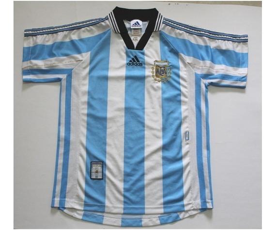Camiseta Selección Argentina Titular Francia 1998